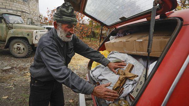 Örmény exodus Hegyi-Karabahból