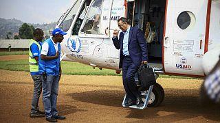 تدروس آدهانوم، مدیر کل سازمان جهانی بهداشت در سفر به روآندا