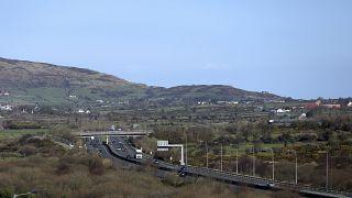 La frontiera tra Irlanda del Nord e Regno Unito