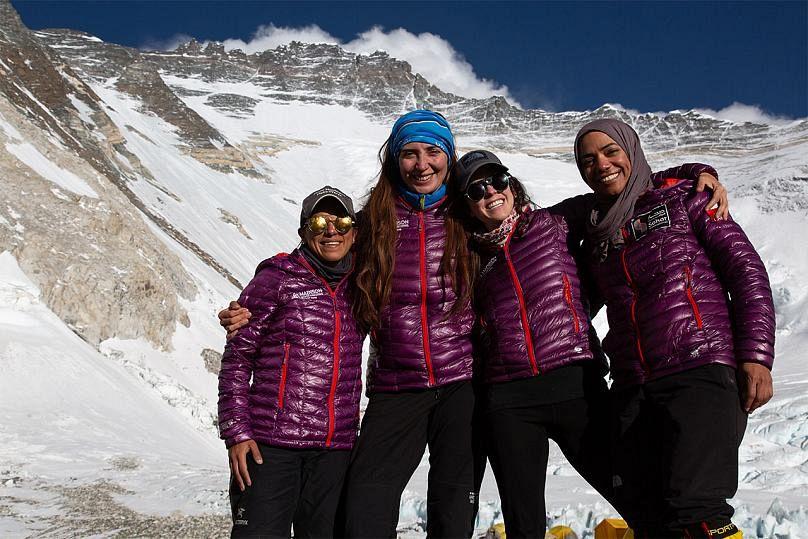 The ' Dream of Everest' team