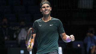 Rafael Nadal va disputer sa sixième demi-finale au Masters, Londres, le 19 novembre 2020