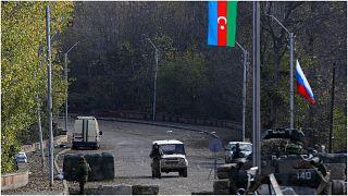 نقطة تفتيش تابعة للجيش الأذري