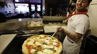 Pizzabäcker in San Francisco, 27.01.2011