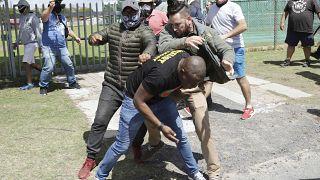 Afrique du Sud : des manifestations anti-racistes dispersée par la police