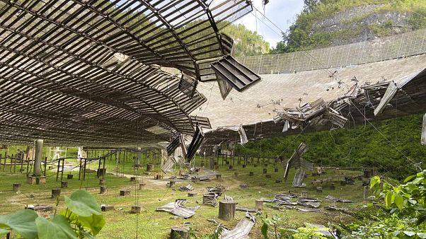 Az Arecibo obszervatórium hatalmas tányérja menthetetlen szakértők szerint