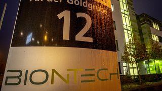Штаб-квартира BioNTech в Майнце, ноябрь 2020 г.