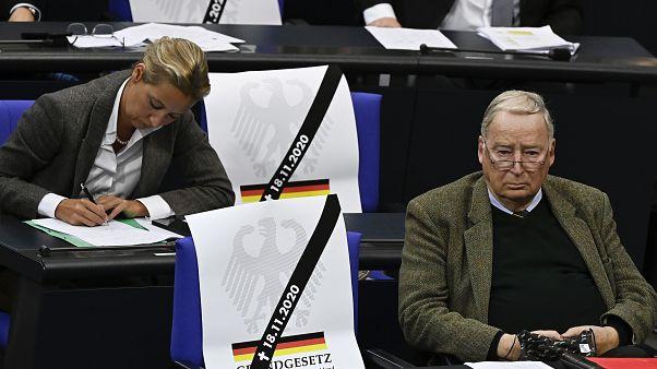 AfD-Protest im Bundestag
