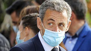 Nicolas Sarkozy en octobre 2020