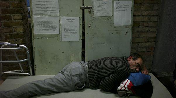 Ουγγαρία: Άστεγοι στο lockdown