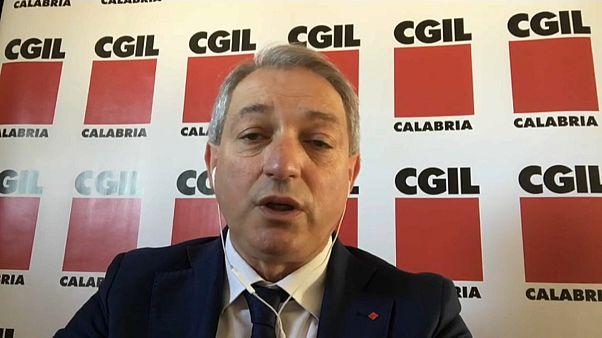 Angelo Sposato, CGIL Calabria