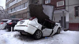 Pusztító jégvihar csapott le Oroszországban