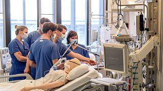 Almanya'da sağlık çalışanları / Arşiv