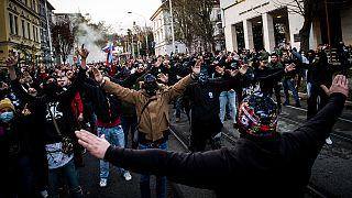تظاهرة لحركة يمينية متطرفة في سلوفاكيا