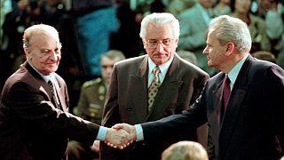 Presidente da Bósnia sela paz com o homólogo da Sérvia perante o líder croata