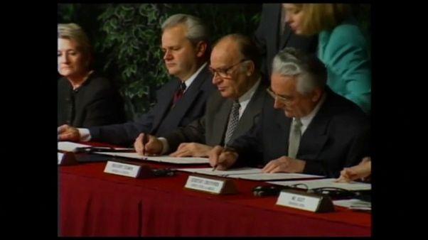 Éppen 25 évvel ezelőtt kötötték meg a daytoni békeszerződést