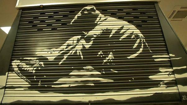 Arte urbano en el Mercado de los Mostenses