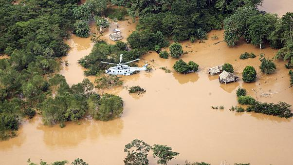 """Verwüstung in Honduras durch Hurrikan """"Iota"""": Zahl der Toten steigt"""