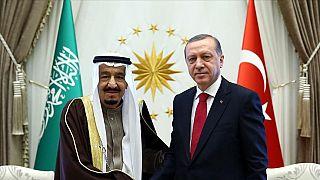 Cumhurbaşkanı Recep Tayyip Erdoğan, Suudi Arabistan Kralı Selman bin Abdülaziz el-Suud ile telefonda görüştü