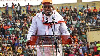 Kabore rallies Ouagadougou in final push for re-election