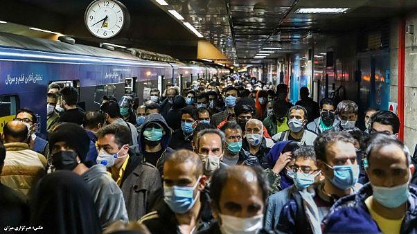 متروی تهران در روزهای گذشته