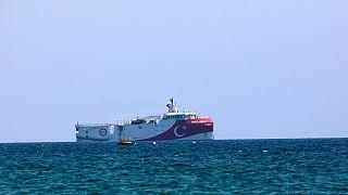 Oruç Reis sismik araştırma gemisi (arşiv)