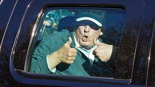 Golfozásról visszatérve – az elnökválasztás után, 2020. november 8-án