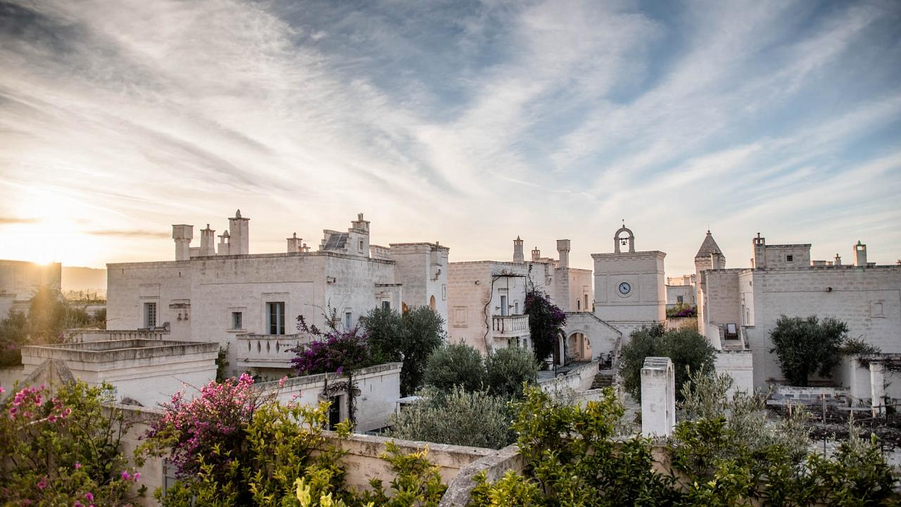 Borgo Egnazia near Sardinia runs longevity retreats.