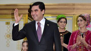 Türkmenistan Devlet Başkanı Kurbankulu Berdimuhammedov (arşiv)