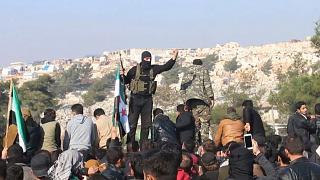 القوات المسيطرة على مناطق في إدلب