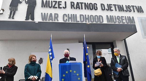 Diplomacia europeia quer aproximação de Sarajevo a Bruxelas