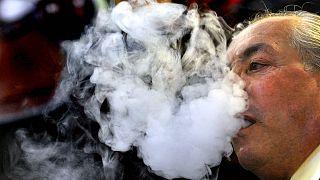مُدخن في مدينة دورتموند الألمانية