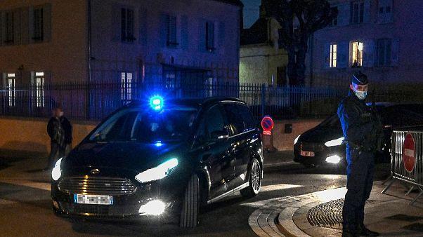 Verurteilter verlässt Gericht in Vesoul