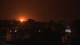 Израиль нанёс удар по Сектору Газа в ответ на ракетный обстрел