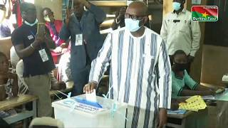 Roch Marc Christian Kaboré et Zéphirin Diabré ont voté