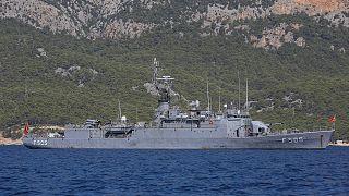 Τουρκικό πολεμικό πλοίο