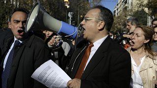 Ο πρόεδρος του Δικηγορικού Συλλόγου Αθήνας σε φωτό αρχείου