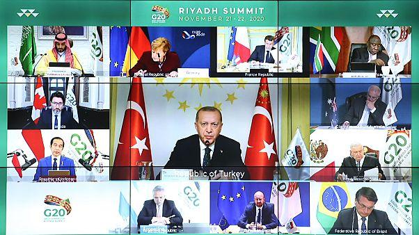 Erdoğan G20 Zirvesi'nde konuştu