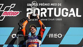 Miguel Oliveira vence na última prova do Campeonato do Mundial de MotoGP