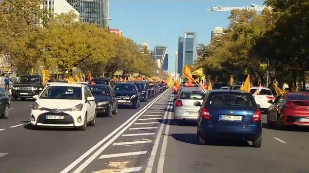 Protesta en Madrid contra la reforma educativa