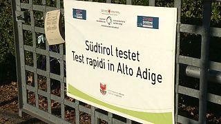Test di massa in Alto Adige