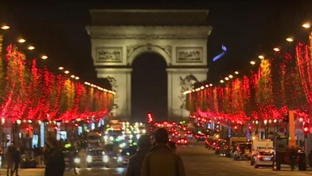 Paris switches Christmas lights on amid tight lockdown restrictions