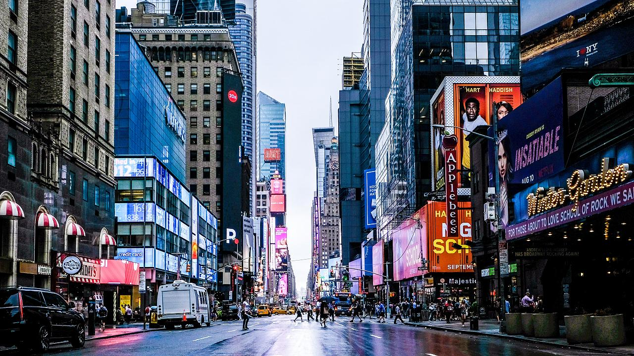 New York looks very different without its usual tourists