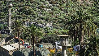 Auf dem Militärgelände Barranco Seco in Gran Canaria soll eine Zeltstadt entstehen