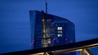 The European Central Bank is seen in Frankfurt, Germany