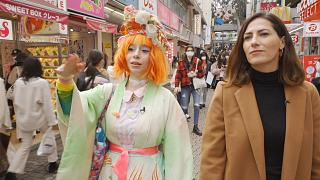 محله هاراجوکو ژاپن؛ سبکهای مختلف لباس با رنگآمیزی وتزئینات منحصربفرد
