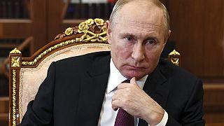 Ο Βλαντίμιρ Πούτιν στο Κρεμλίνο