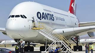 Photo d'illustration - un A380 de la compagnie aérienne Qantas