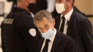 Sarkozy no banco dos réus