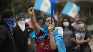 La protesta del sábado contra el Prespuesto reunió a más de 10.000 personas