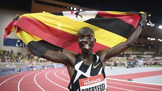 Ugandan long distance runner Joshua Cheptegei in the final list of male athlete of the year award